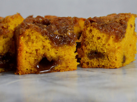 Cinnamon Pumpkin Coffee Cake for a Fall Day