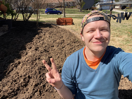Continue to Grow: Gardening In My New State and What's Growing in My 2021 Garden