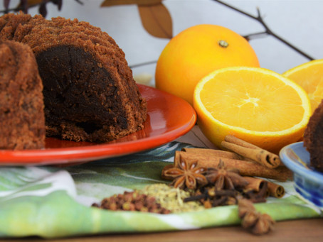 Trial and Error with My Least Favorite Bundt Pan: A Tale of Chinese Five Spice-Chocolate Citrus Cake