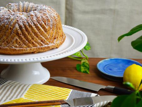 Trying This Bundt Pan Again…. Lemon Basil Sandkuchen (German Pound Cake)