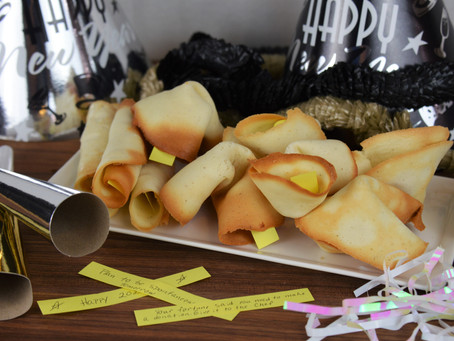Ring in the New Year with some Homemade Fortune Cookies!
