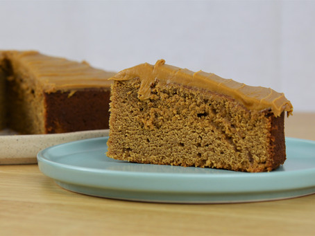 Gingerbread Cake with Molasses Frosting