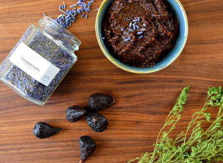 Quick and Easy Lavender and Fig Jam