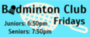 badminton social sports club children adults amateur friday hutton free church