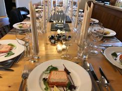 Private 50th Birthday Dinner