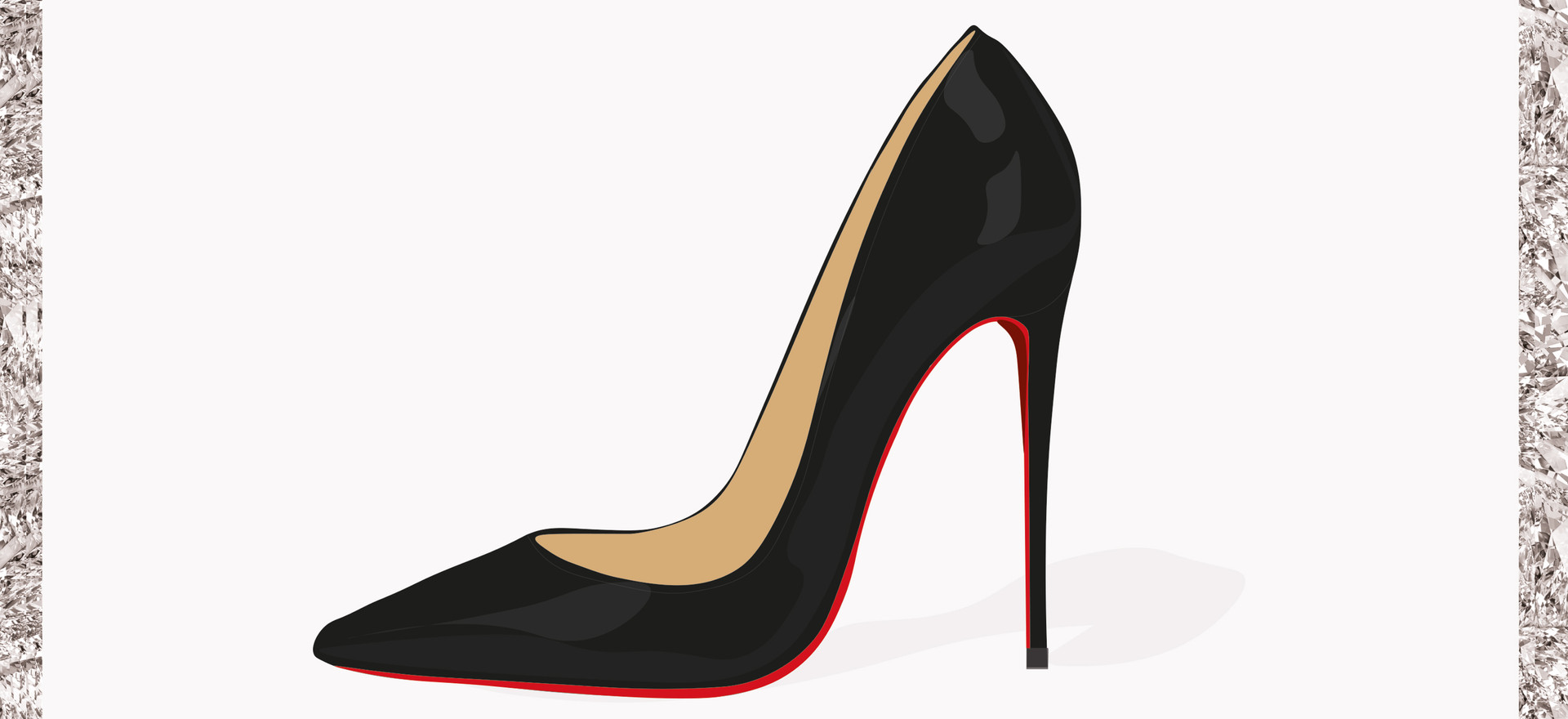 Louboutin Shoe Illustration