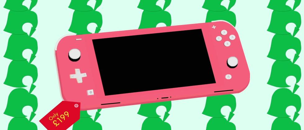 Animal Crossing X Nintendo Lite Pink