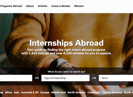 How To Find Your Dream Internship Abroad