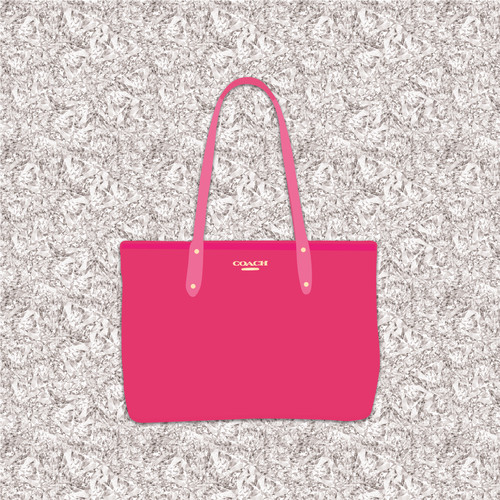 Coach Handbag Illustration