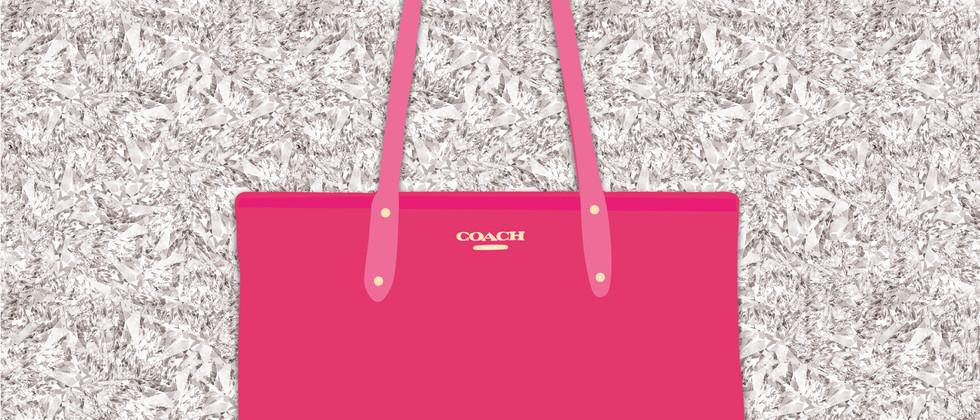 Coach Handbag Illustration