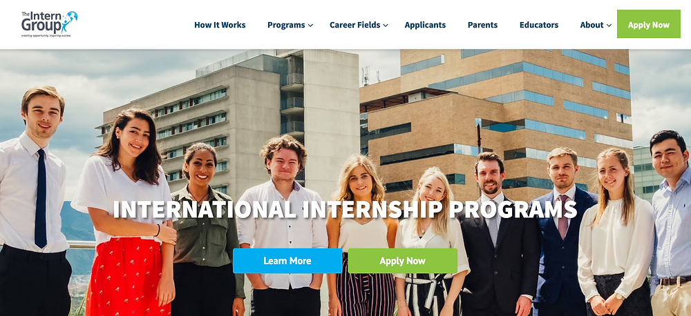 The Intern Group Website