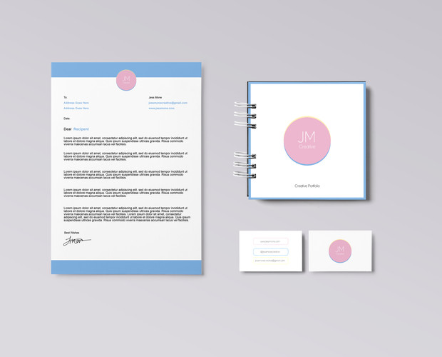 Stationary Mock - JM Creative