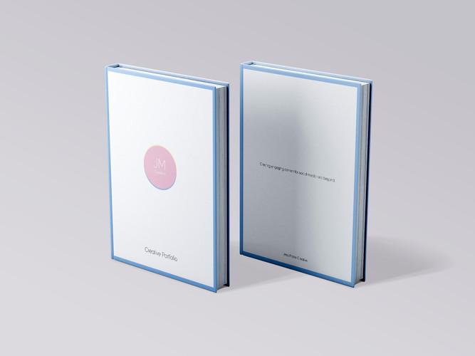 Portfolio Book Mock - JM Creative