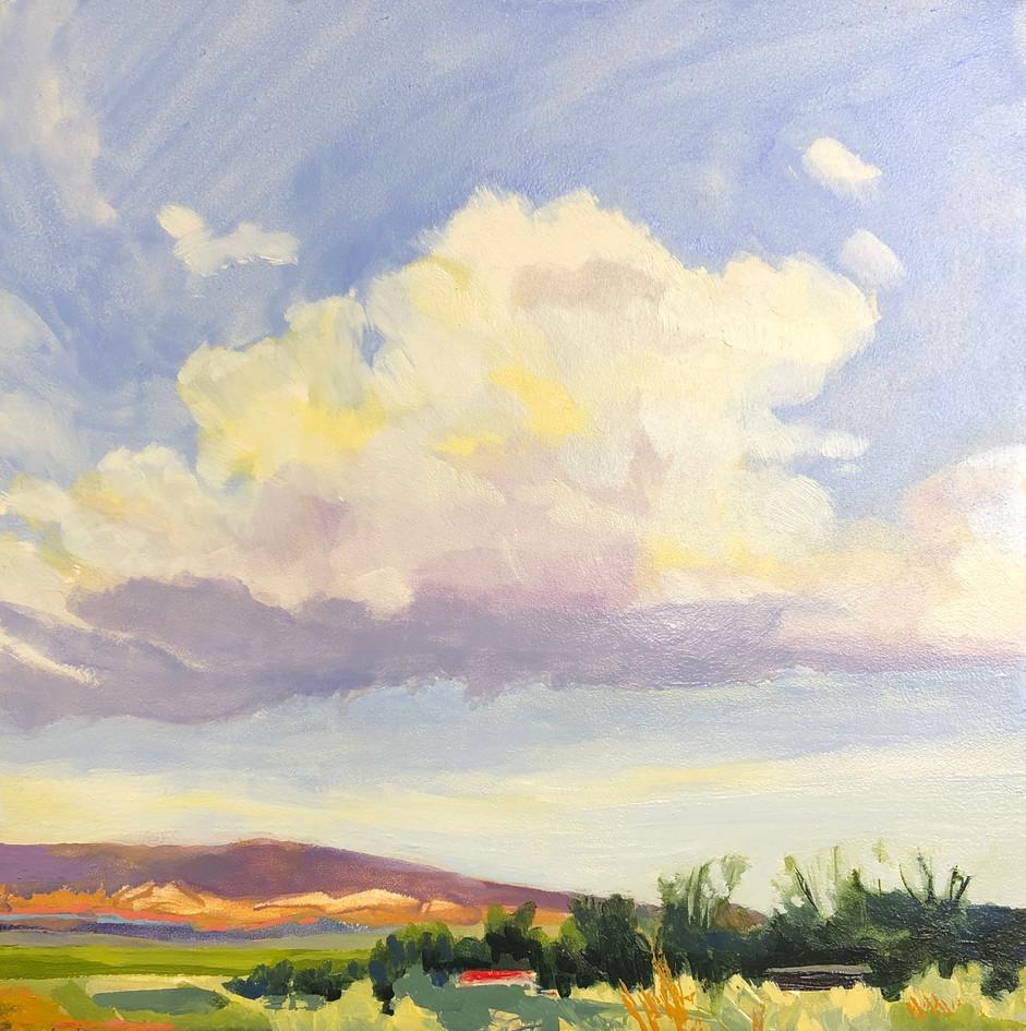 Big Cloud Little Landscape