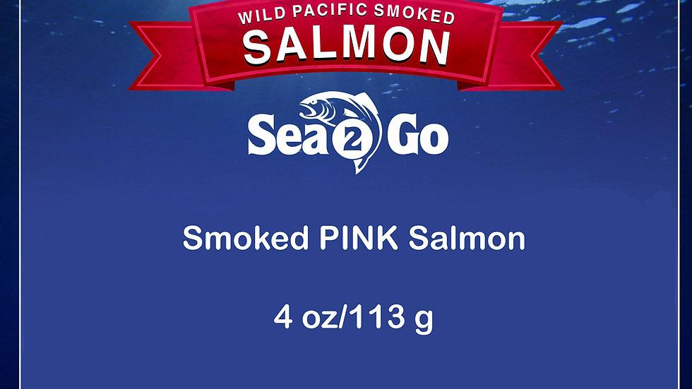 WILD Smoked PINK Salmon