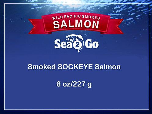 WILD Smoked SOCKEYE Salmon