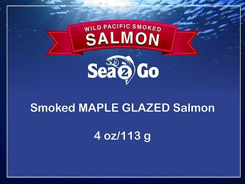WILD Smoked MAPLE GLAZED Salmon
