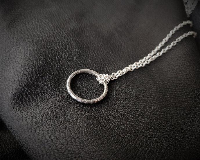 Decay Hoop - Necklace