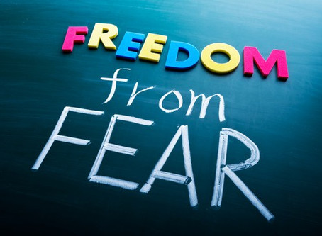 Finding Freedom from the Fear of Failure and of Being Imperfect - Part 2