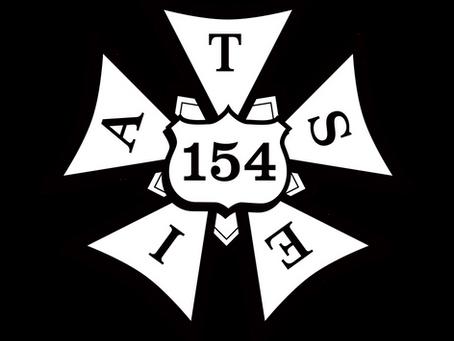 154 Earns it's Charter