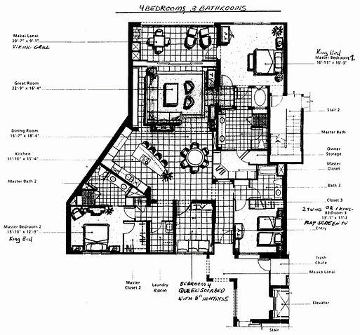 WBV L409 Floor Plan