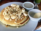 Longhi's Mac Nut Pancakes
