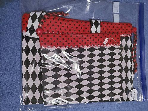 Set of Lg. & Sm. Drawstring Bag