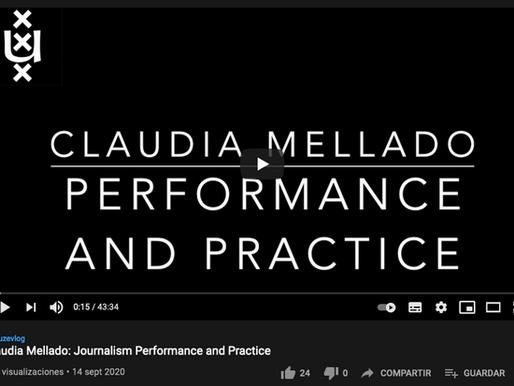 Claudia Mellado's Interview with Mark Deuze