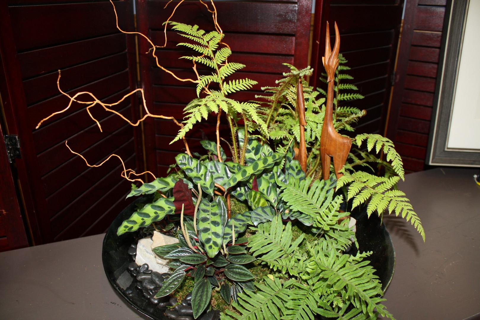 Botanical Centerpiece for Kerus Global Education Foundation Fundraiser
