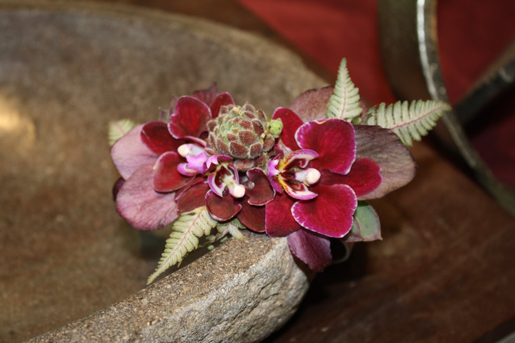 Wrist Corsage for Bethany