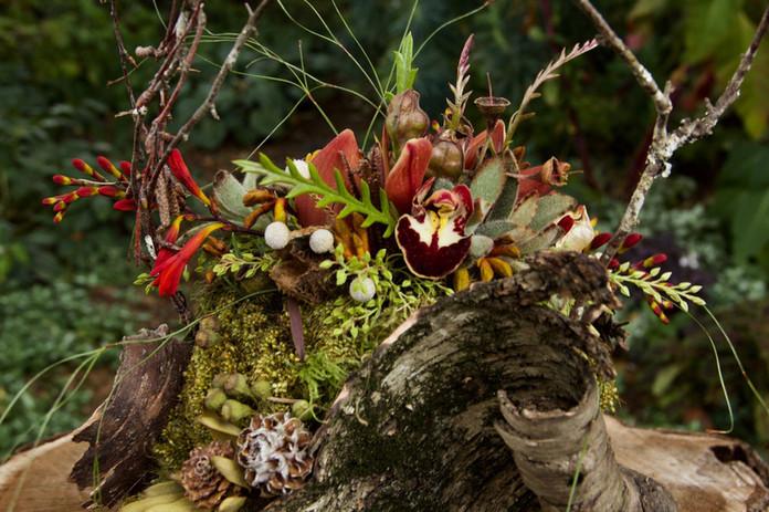 Detail of Botanical Purse