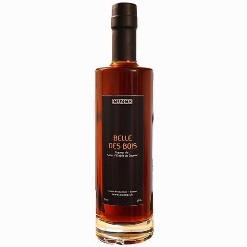 « Belle des Bois » Liqueur de Sirop d'érable au Cognac 50cl (vol.20%)