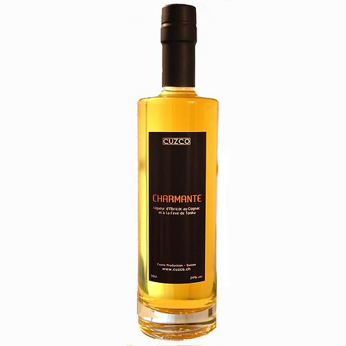 « Charmante » Liqueur d'Abricot-Tonka 50cl (vol.24%)