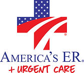 aer urgent care logo & logotype vertical