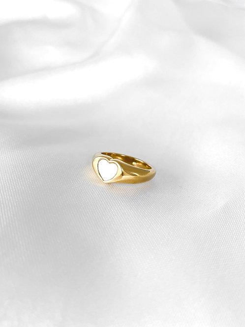 Gianna ring white