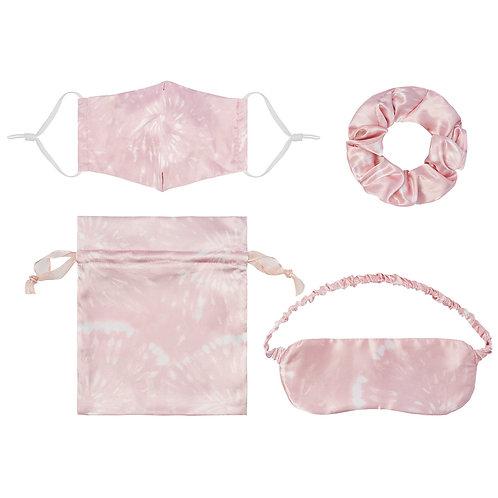 pink tie-dye set