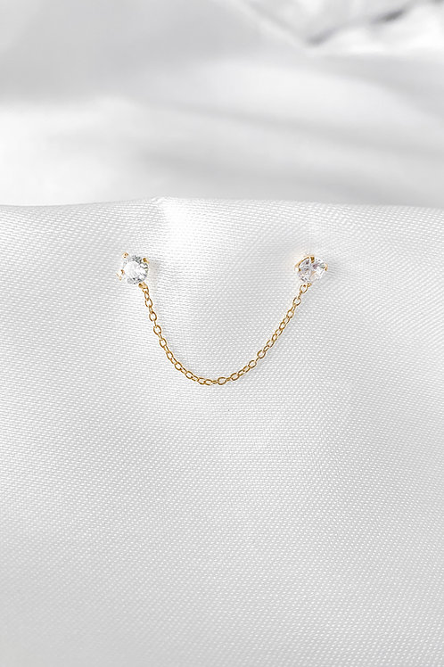Charlot single earring
