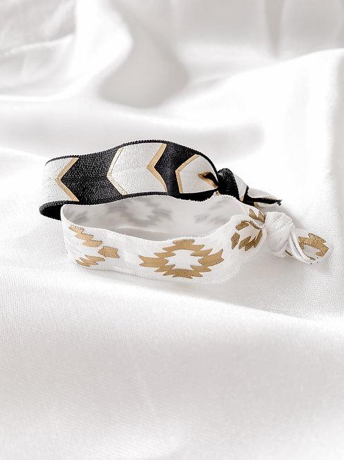 2 pack elastics/bracelets of choice