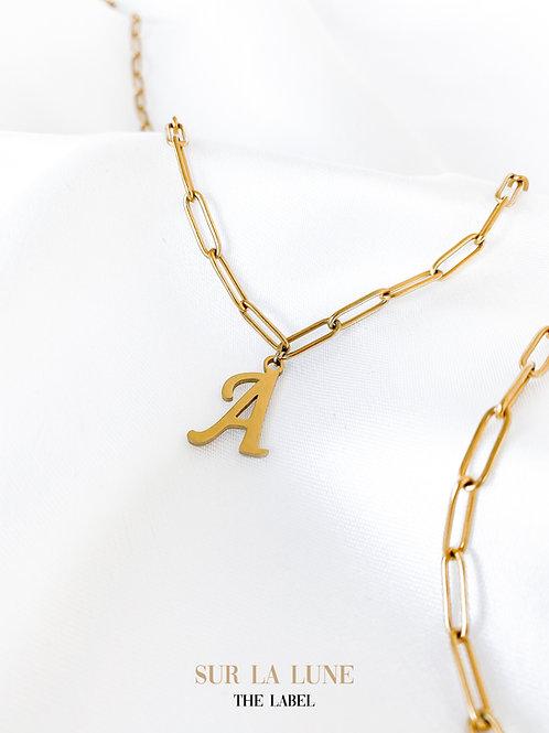 Nova initial necklace