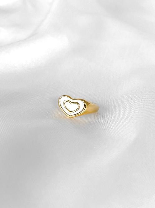 Madison ring white