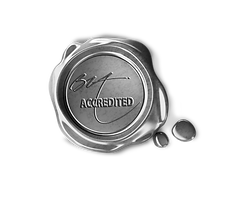 Silver Seal of Approval Logo Transparent