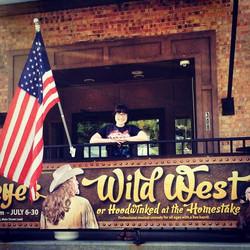 Hannah at Deadeye's Wild West