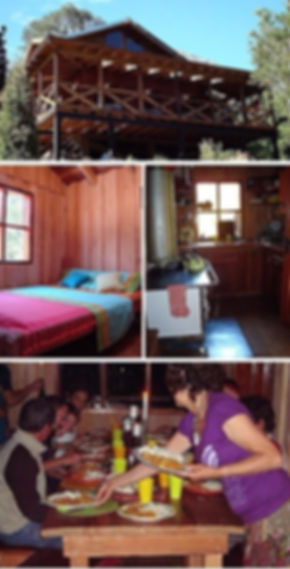 Refugio Cochamó bed and breakfast in Patagonia Chile