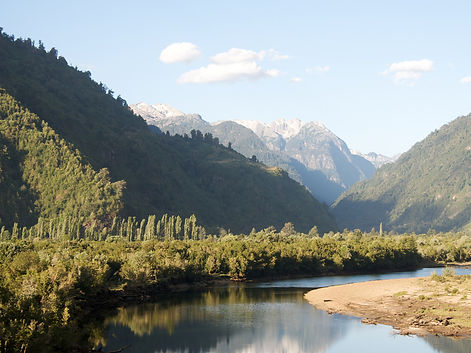 Camping Los Pozones - Valle Cochamó, Chile