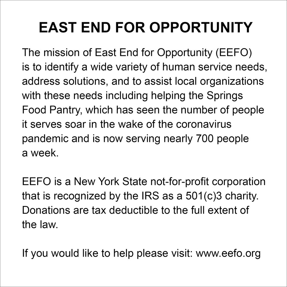EAST END FOR OPPORTUNITY