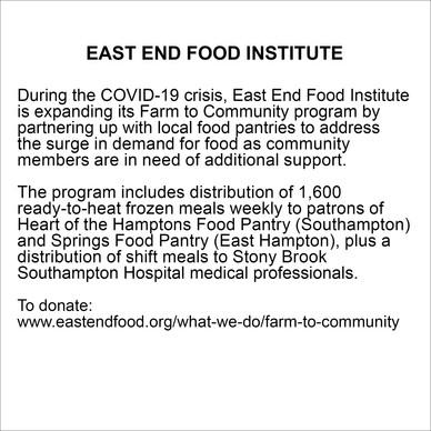 EAST END FOOD INSTITUTE