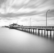 Fairhope Pier B/W