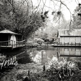 Japanese Gardens B/W