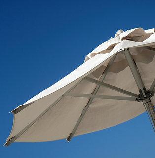 7.5' x 7.5' Market Umbrella - Aluminum Frame