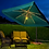 Thumbnail: 8' x 8' Side Post Umbrella with Lights